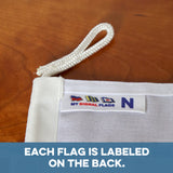"""N"" Nautical Signal Flag - mysignalflags"