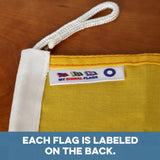 """O"" Nautical Signal Flag - mysignalflags"