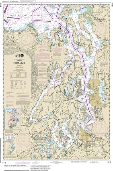 NOAA Navigational Charts - Print on Demand