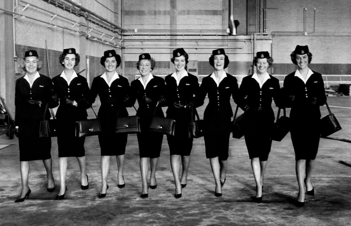 The Life Of A Sixties Air Stewardess