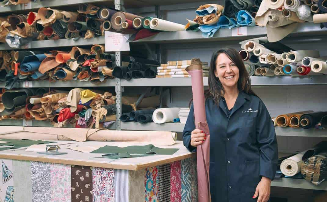 Meet The Craftsmen: Sarah Wilcox, Leather Assistant Manager