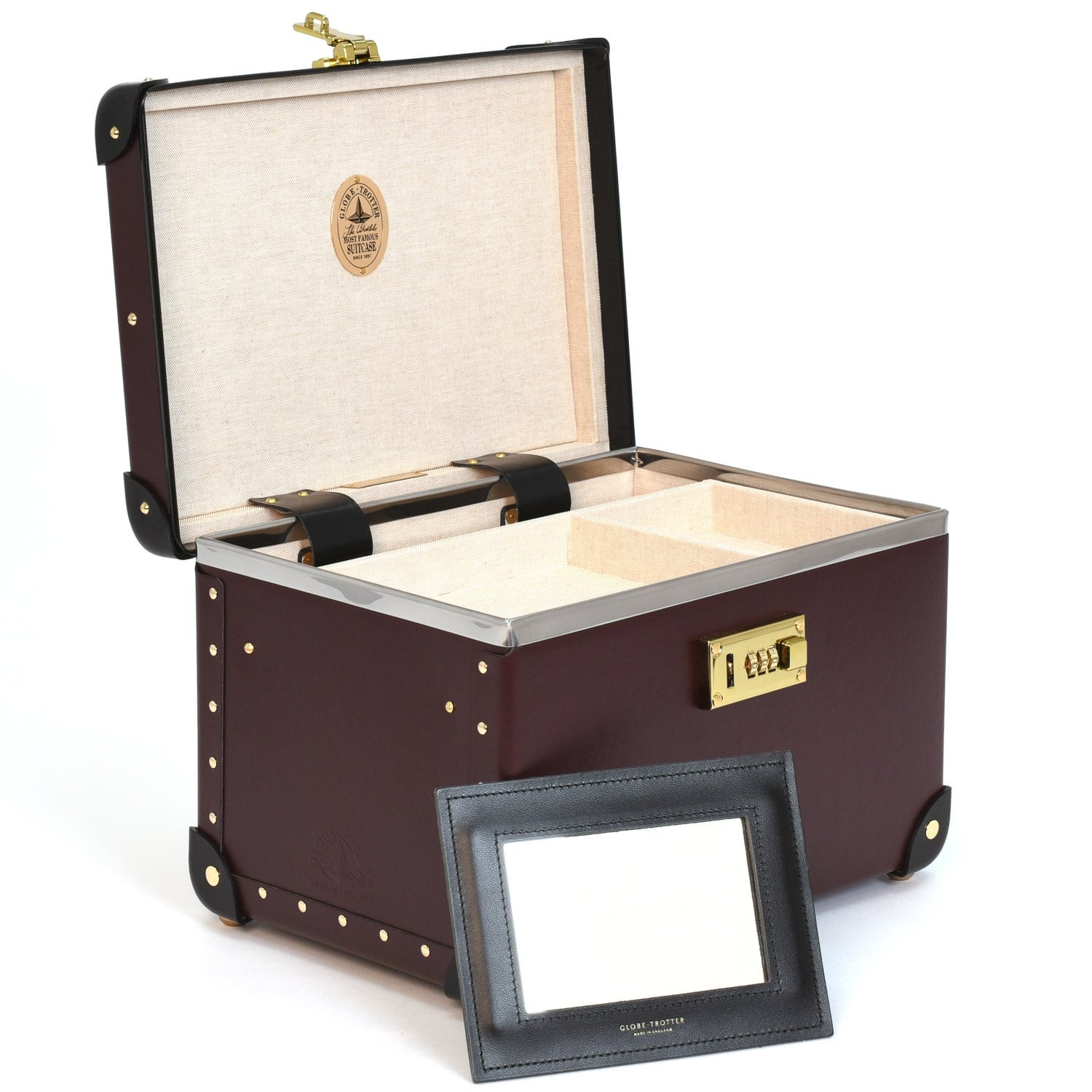 Centenary · Vanity Case | Oxblood