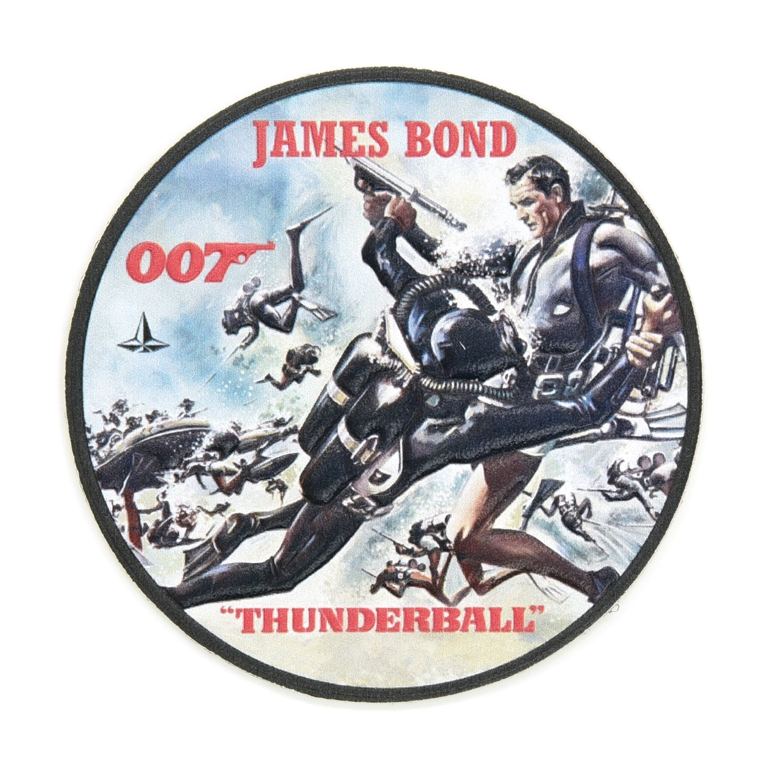 James Bond Leather Luggage Sticker Set | Box