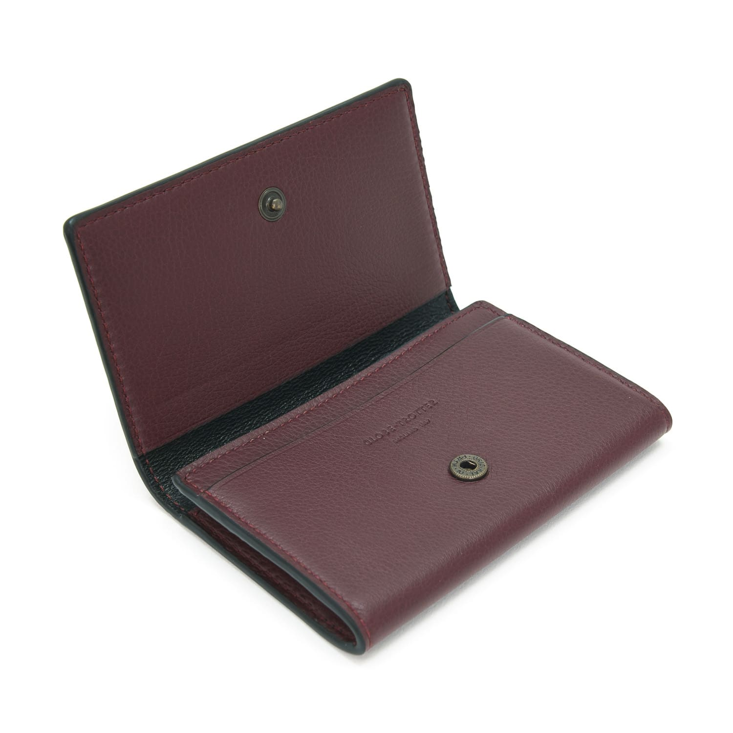 Centenary Leather · Business Card Holder - Oxblood