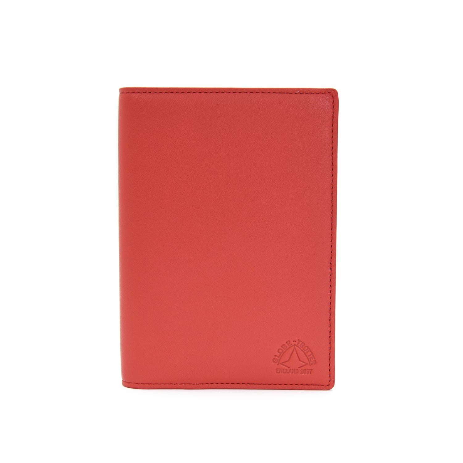 Centenary Leather · Passport Sleeve - Red