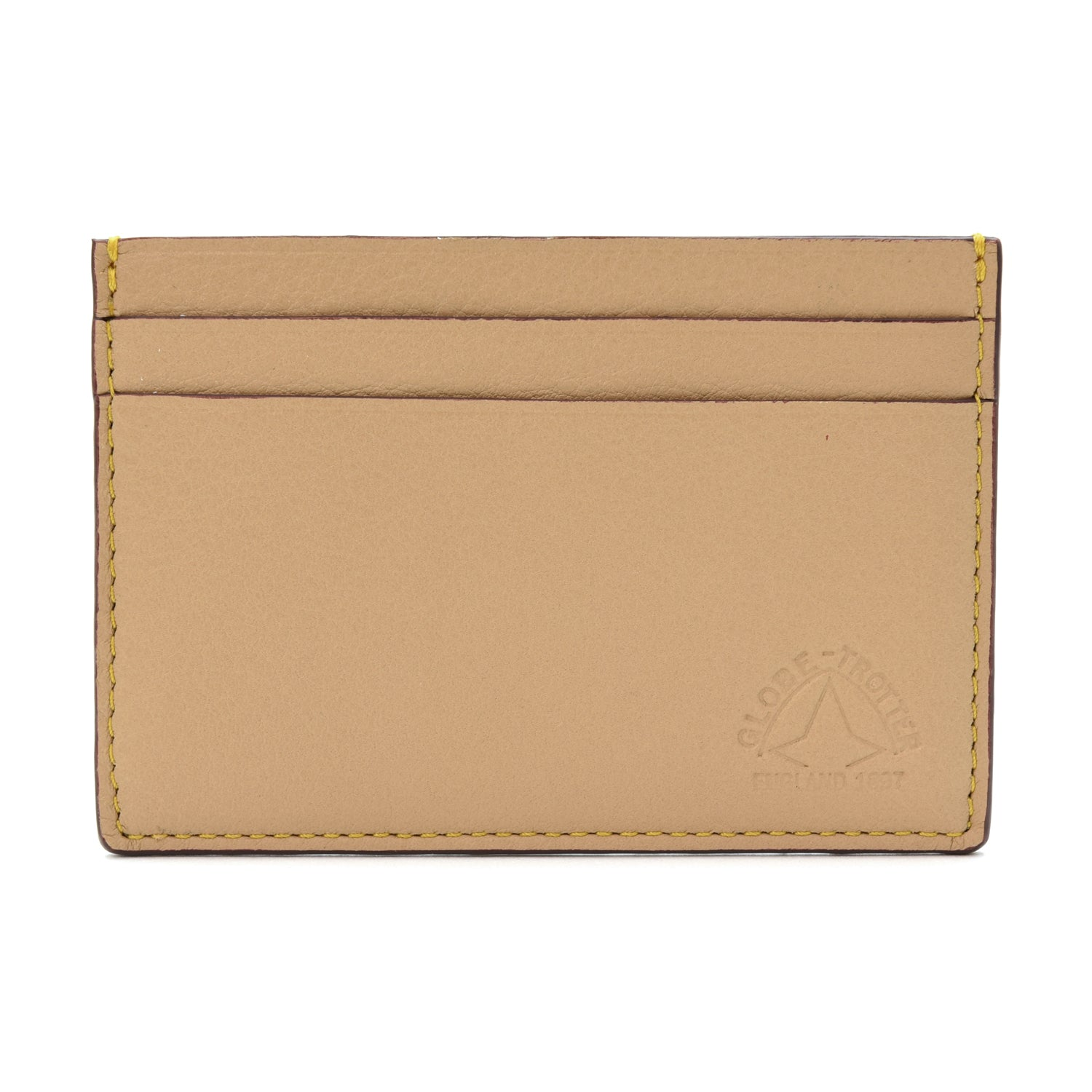 Riviera · Credit Card Holder - Tan