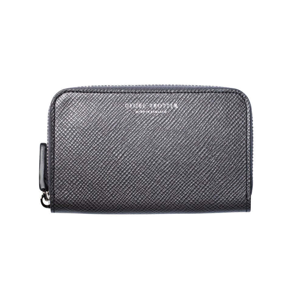 Jet · Zip Around Purse - Graphite