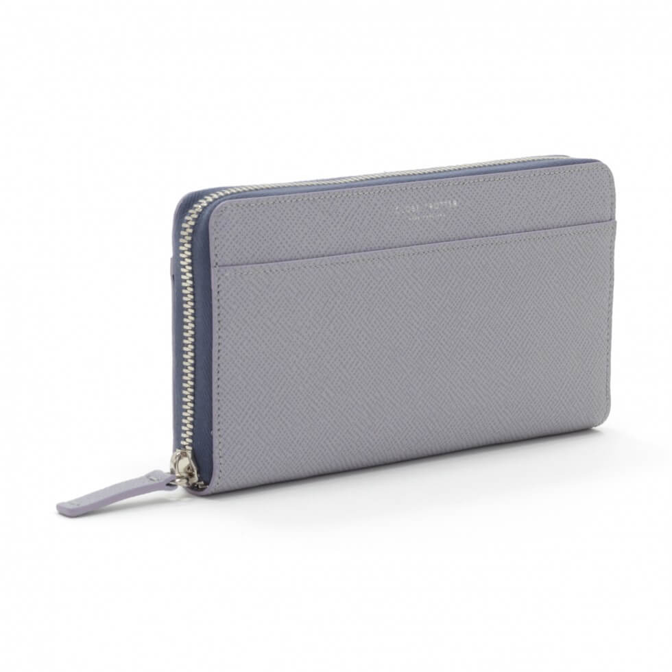 Jet · Zip Around Purse | Iceland Blue