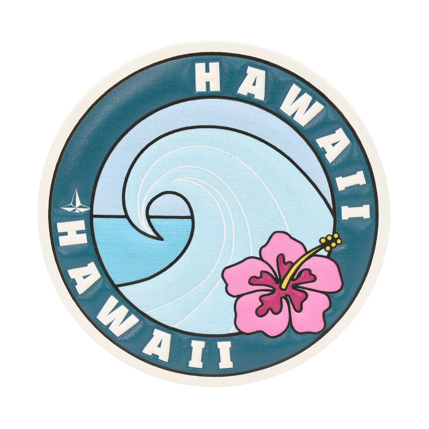 Leather Travel Stickers ·  Hawaii