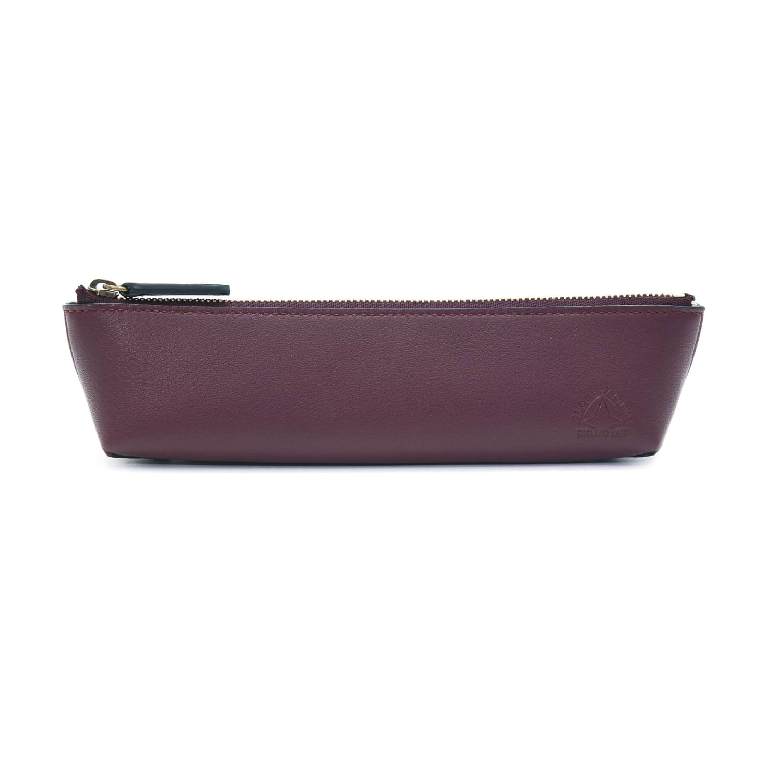 Centenary Leather · Pencil Case | Oxblood