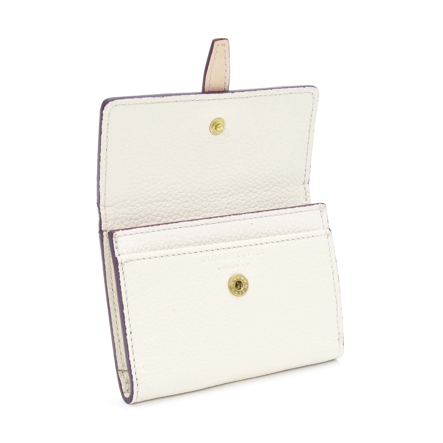 Centenary Leather · Ladies Name Card Holder - Ivory