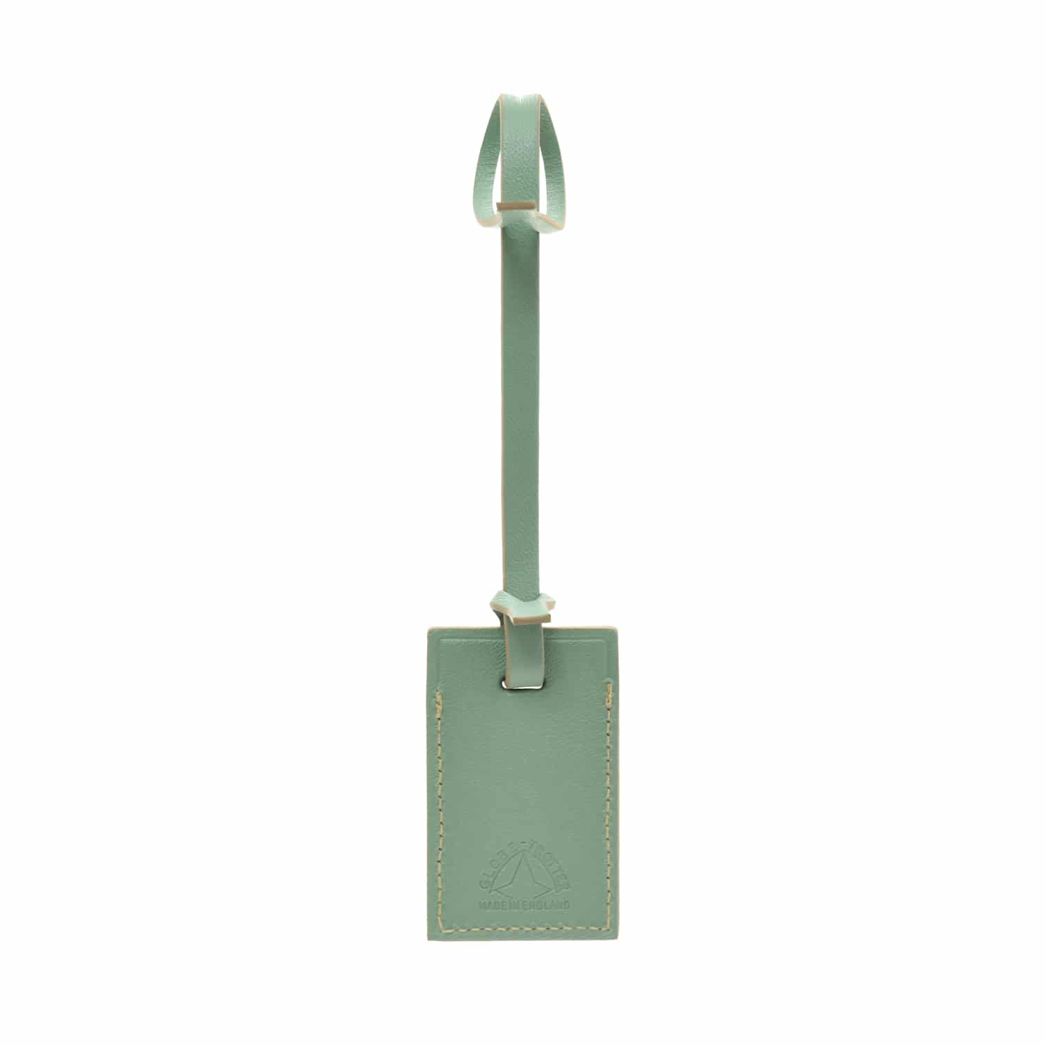 The London Square Collection · Mini Luggage Tag | Sage