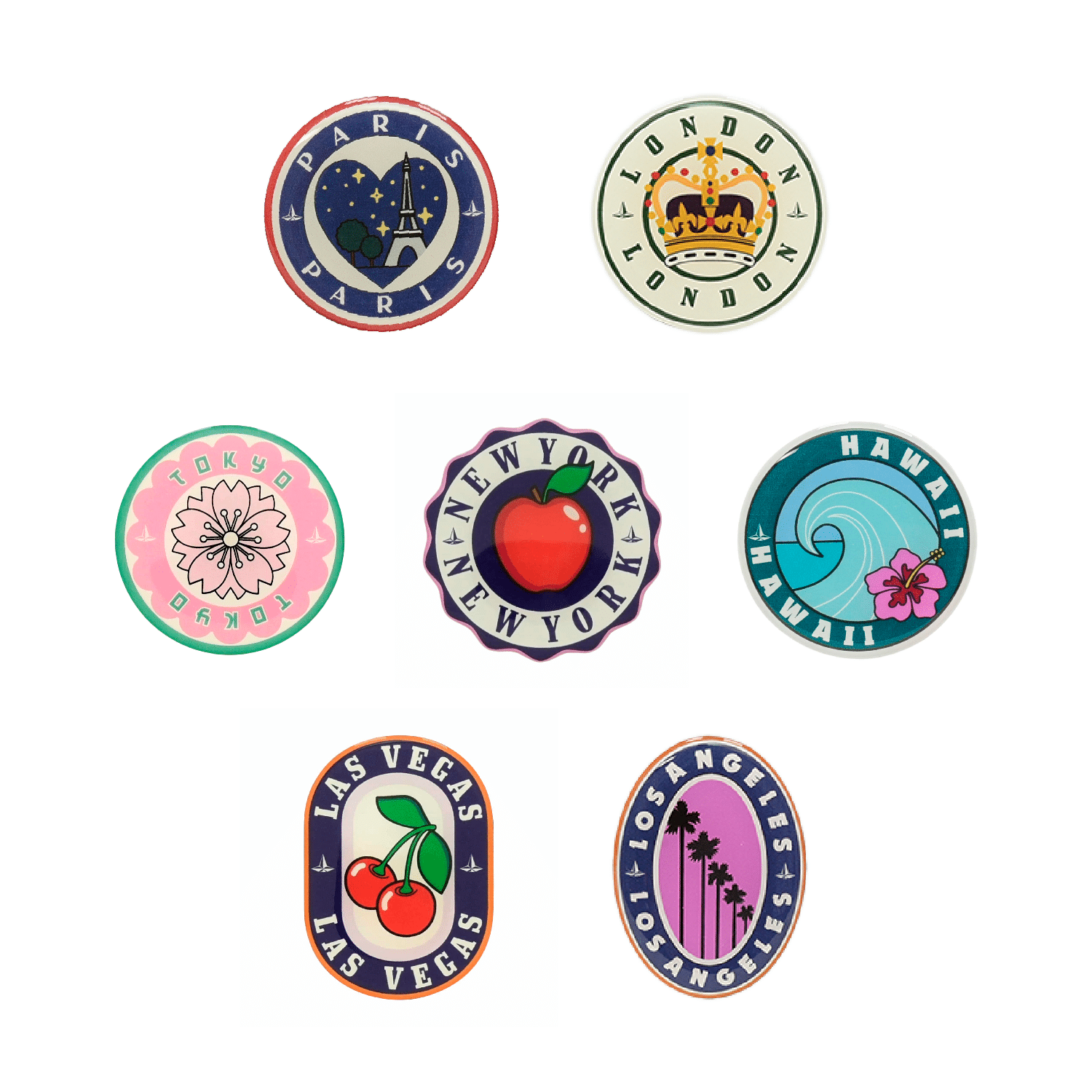 The London Square Collection - Small Sticker Bundle