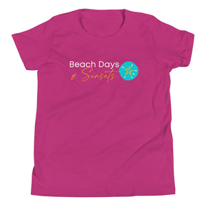 Beach Days & Sunsets - Youth Tee