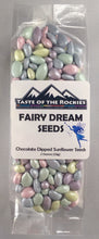 Load image into Gallery viewer, Fairy Dream Seeds - Chocolate-covered sunflower seeds - Taste Of The Rockies