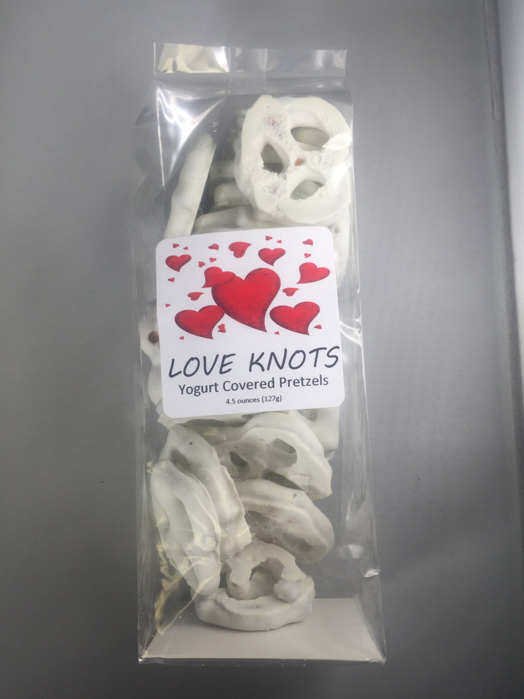 Love Knot Yogurt Pretzels - Taste Of The Rockies
