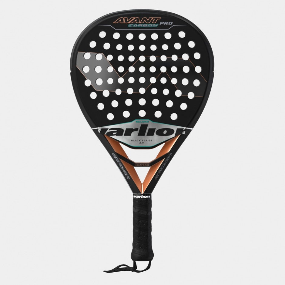 VARLION AVANT CARBON PRO BLACK 2.0 - Padel Shop Ecuador ®