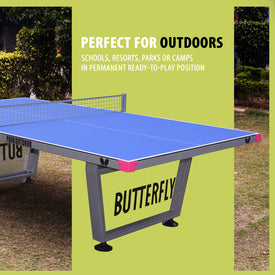 Butterfly Park Outdoor Ping Pong Table