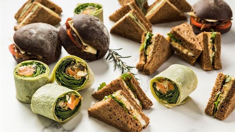 Vegetarian (Sandwiches, Wraps & Rolls)