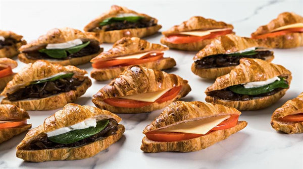 Vegetarian Croissant Selection