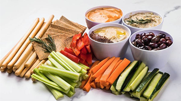 Assorted Dips & Crudites