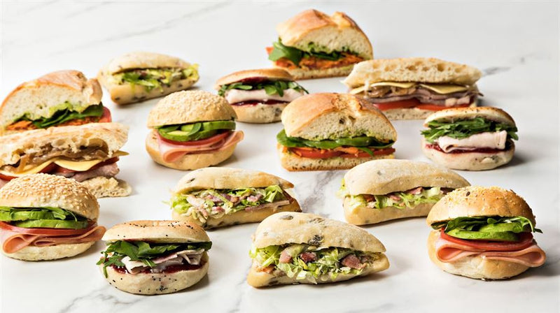 Gourmet Sandwiches (3 pieces = per person)