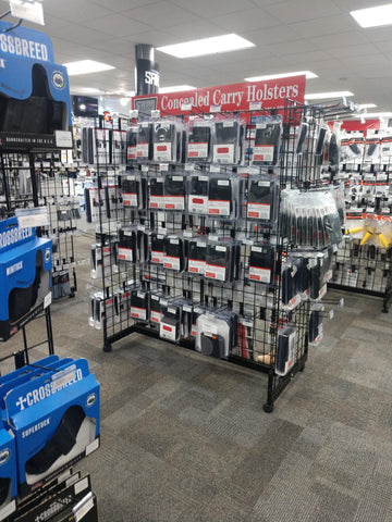 Large store display located inside GT Distributors in Rossville GA