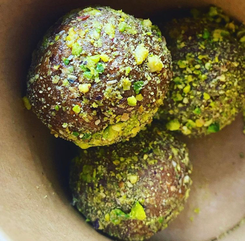 Monday: Energy Balls - Lemon + Pistachio