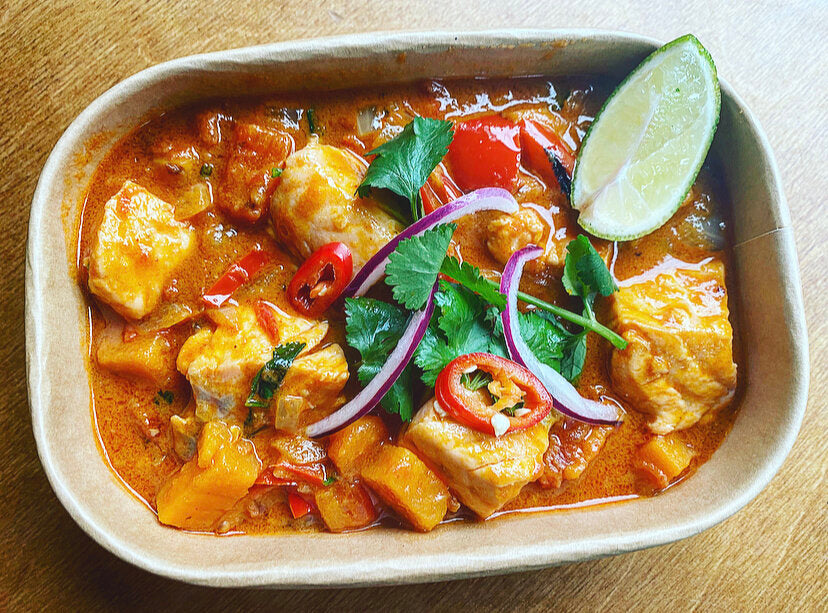 Wednesday: Hearty and Healthy, Salmon Moqueca