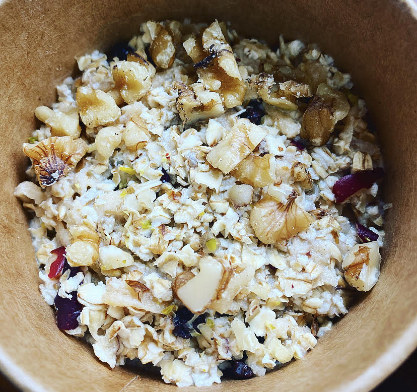 Wednesday: Apple + Cinnamon Bircher Pot (GF)