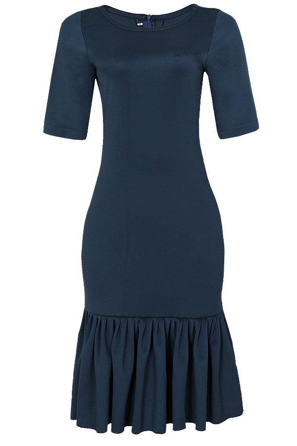 THE AMAKA FRILL HEM DRESS