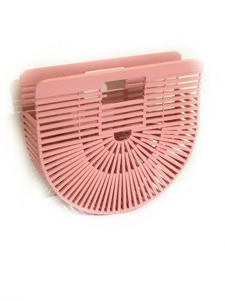 PINK BAMBU CLUTCH BAG