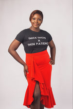 THICK THIGH SLOGAN TEE