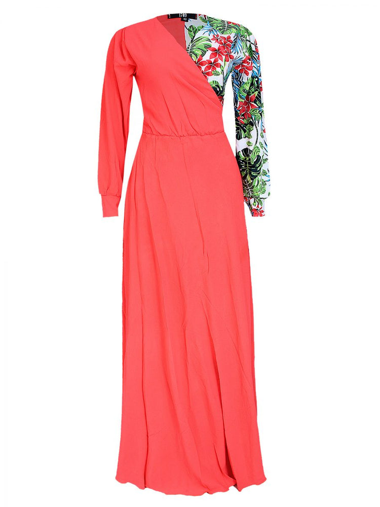 LEENA TWO TONE MAXI DRESS