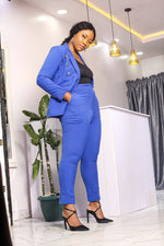 KELANI DOUBLE BREASTED TROUSER SUIT