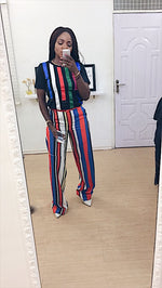 KEITH CANDY STRIPE TROUSER