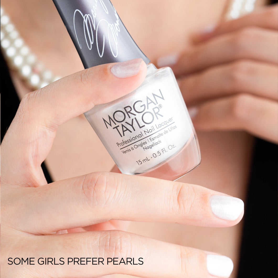 Morgan Taylor | Some Girls Prefer Pearls | 15 ML