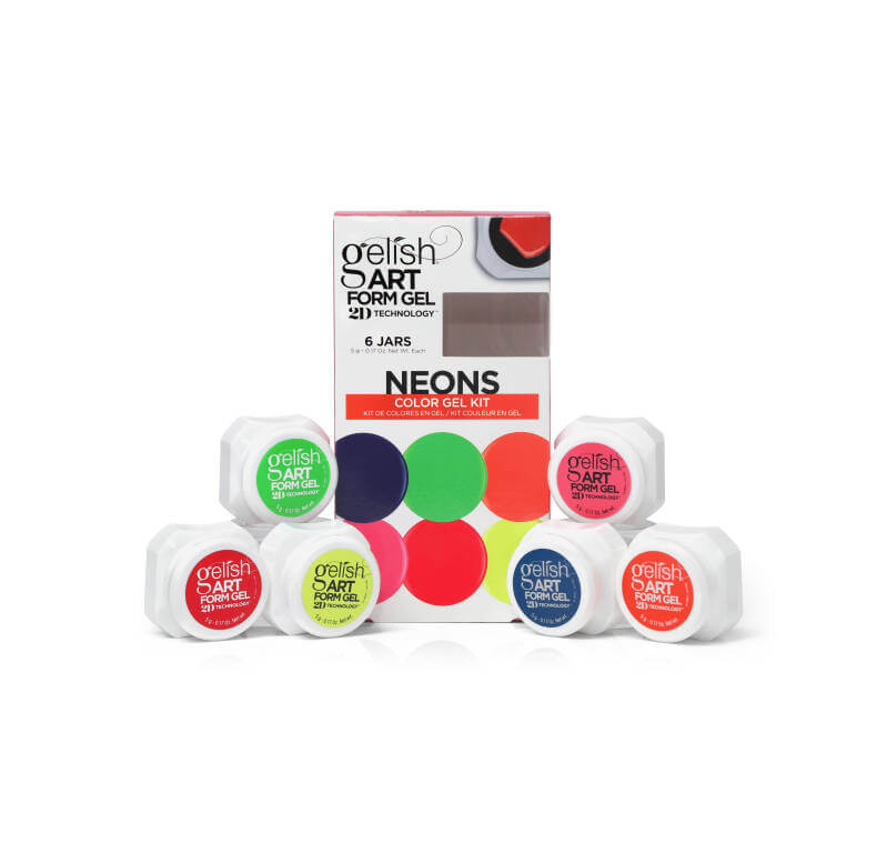 Gelish | Art Form Gel | Neon Kit