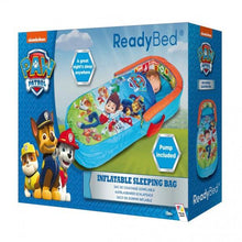 "Load image into Gallery viewer, Box for Paw Patrol MyFirst ReadyBed ""Air Bed"" for children to sleep on when camping, from Kids Camping Store"