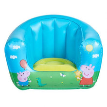 Load image into Gallery viewer, Childrens Peppa Pig Camping Arm Chair Front