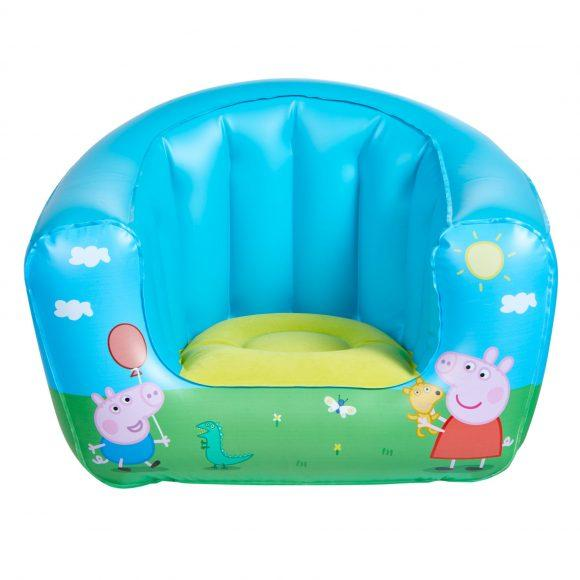 Childrens Peppa Pig Camping Arm Chair Front