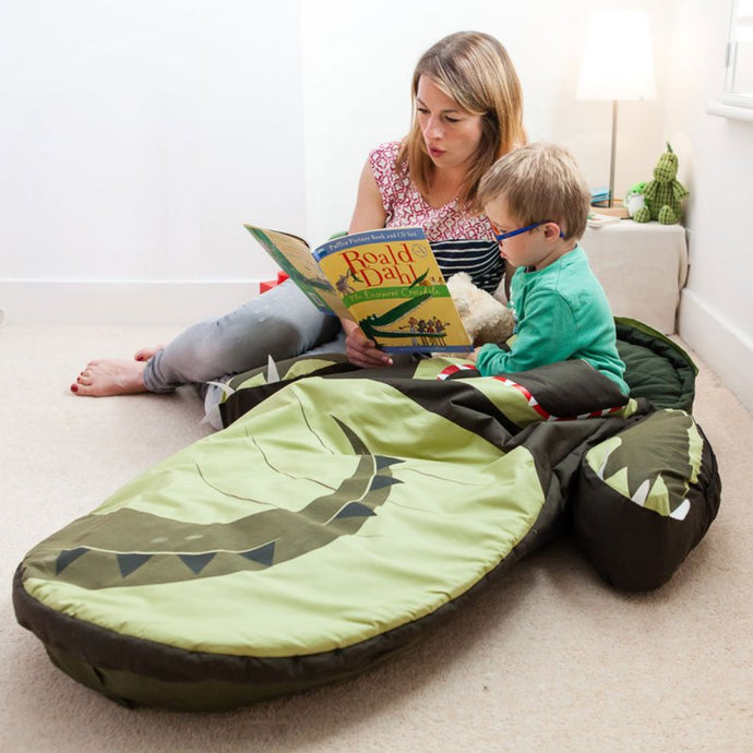 Crocodile Ready Bed Snuggle Pod - Feather on the Floor