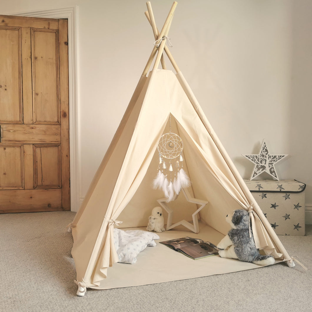 Children's Teepee Tent with Illuminated Dreamcatcher