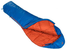 Load image into Gallery viewer, Vango Nitestar Alpha Junior Children's Sleeping Bag in Cobalt blue, laid open