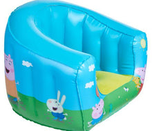 Load image into Gallery viewer, Childrens Peppa Pig Camping Arm Chair Front Left