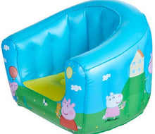 Load image into Gallery viewer, Childrens Peppa Pig Camping Arm Chair Front Right