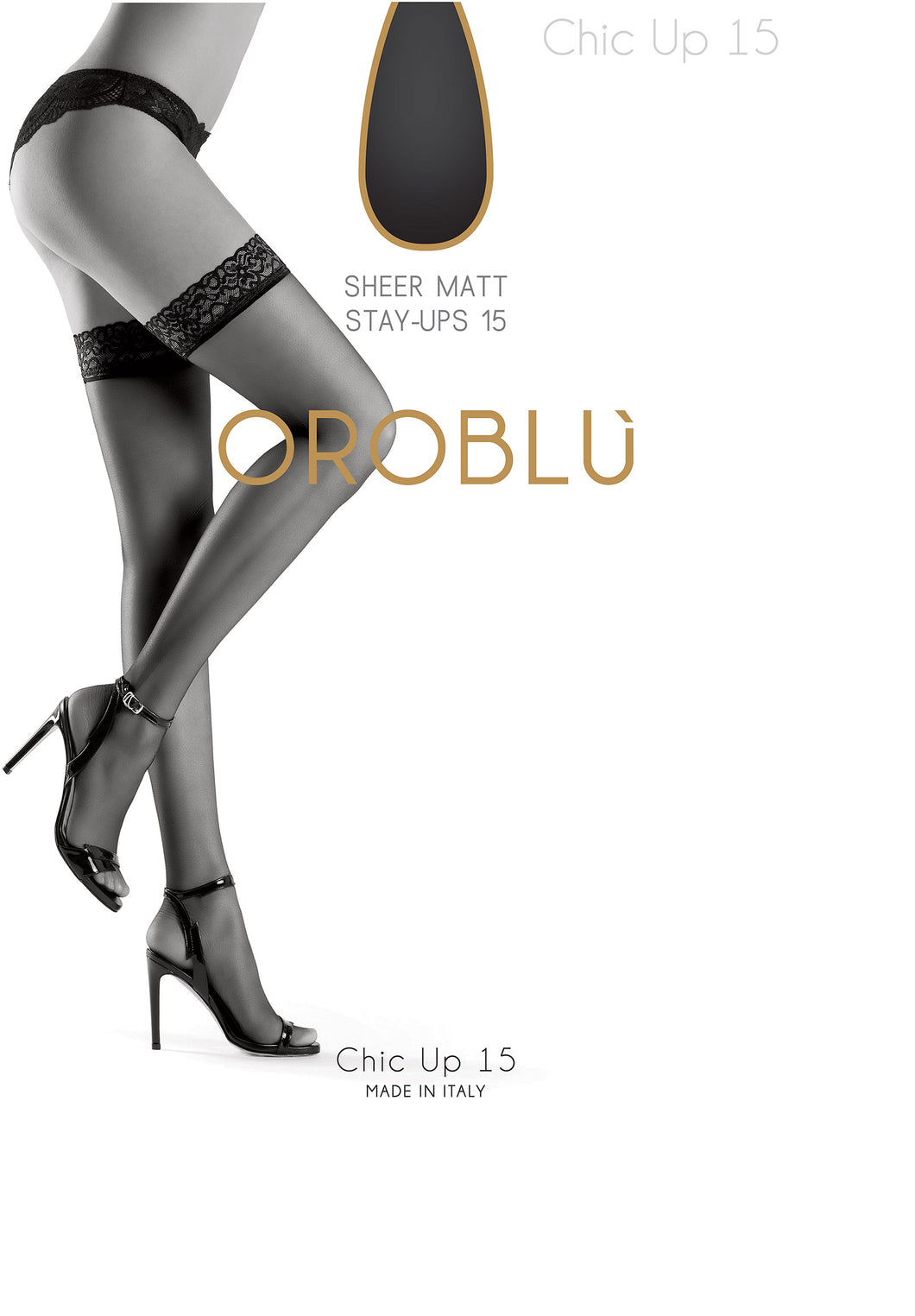 Oroblu Bas chic up 15 OR1101500 rio