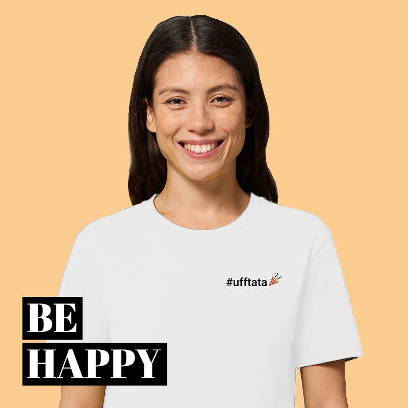 Be happy Kollektion ufftata shirt