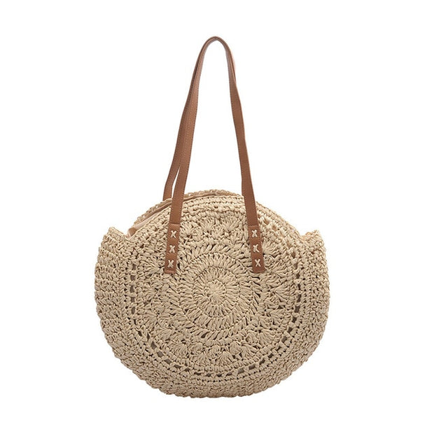 Handwoven Summer Boho Beach Bag