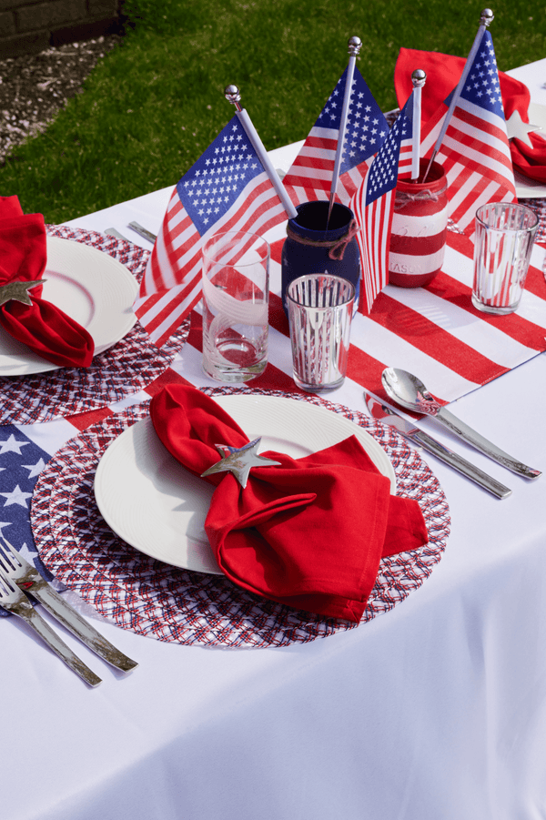 Americana Braided Placemats